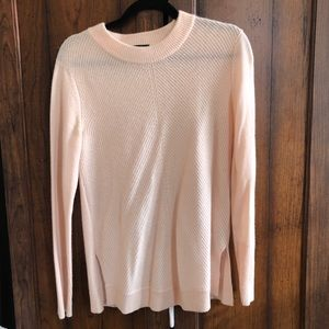 Rag and Bone 100% Cashmere Sweater Pale Pink